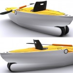 Verseka Transformable Boat Offers Easy to Assemble Modern Boat