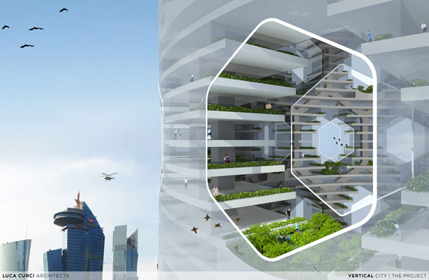 Vertical City by Luca Curci Architects