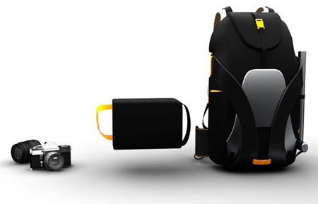 Freeride Backpack to Keep Your Photography Equipments Safe while Skiing