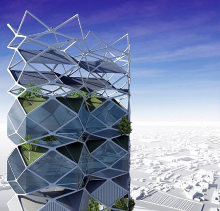 Stunning Vertical Park Design for Mexico City