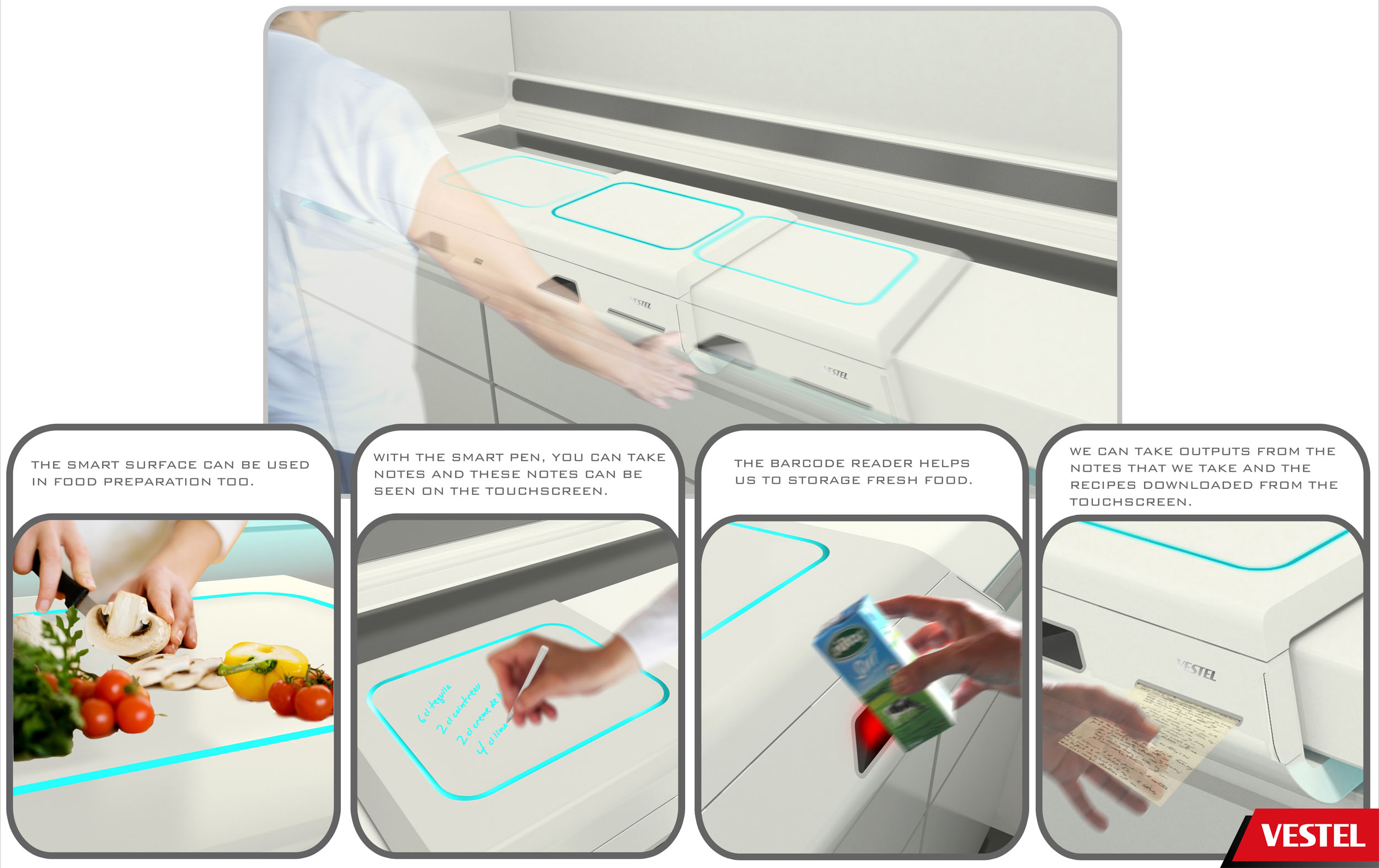 Vestel Assist Project Introduces You to Smart Kitchen System
