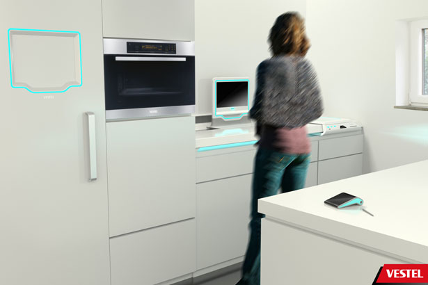 Vestel Assist Kitchen System by Begum Tomruk