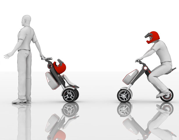 VEU : Individual Electric Vehicle That Can Be Transformed Into a Trolley in Seconds