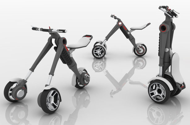 VEU - Individual Electric Vehicle by Alan Fratoni
