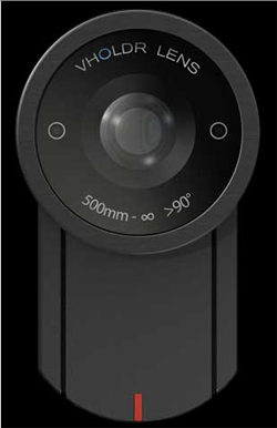 future wearable camcorder vholdr