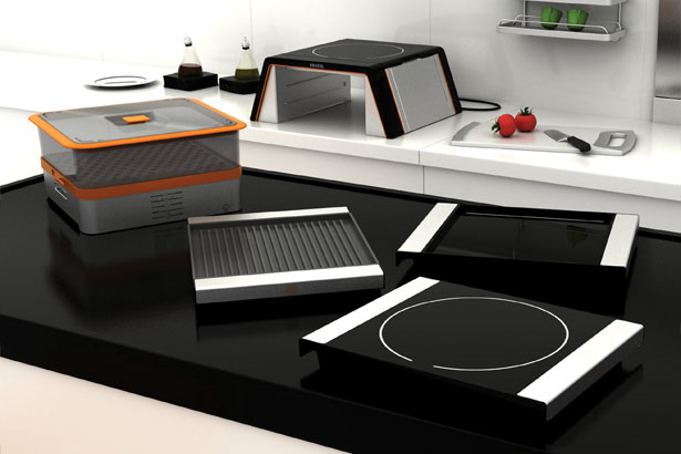 VIA Modular Cooking Unit by Buse Ustun