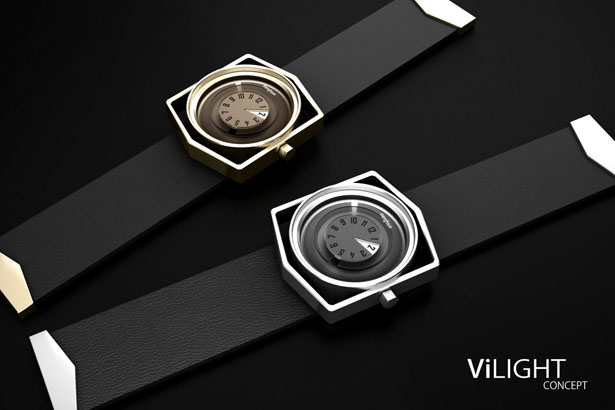 ViLIGHT Watch Design Was Inspired By The Eye