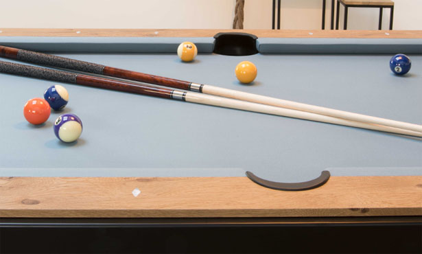Vintage : Dining Pool Table by FusionTables