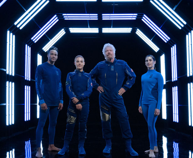 Virgin Galactic x Under Armour Spacewear System for Private Astronauts