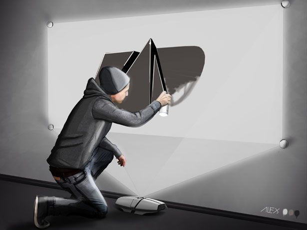 Virtual Graffiti by Alexander Knorr
