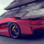 Vision GT Concept Car Proposal for Ferrari by Peter Spriggs