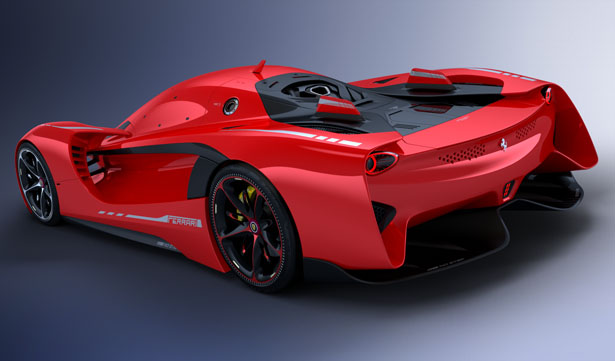 ... Vision GT Concept Car Proposal For Ferrari By Peter Spriggs ...