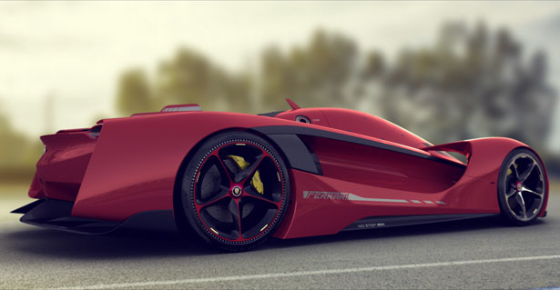 Vision GT Concept Car Proposal for Ferrari by Peter ...