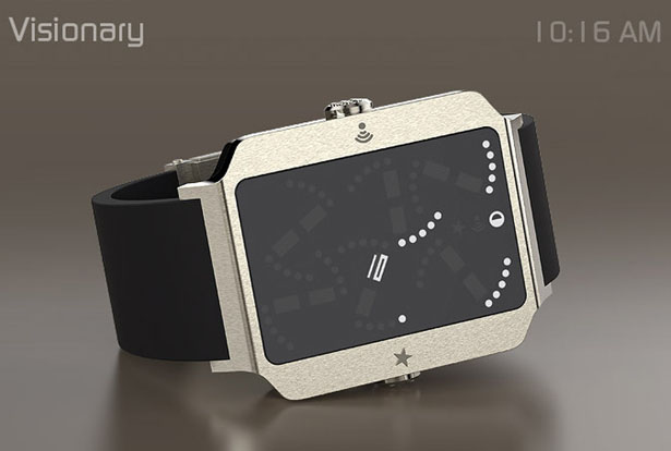 Visionary Analog Watch Deconstructed Concept by José Manuel Otero