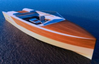 Vita Concept Yacht Combines Classic and Modern Design to Represent Practicality and Style