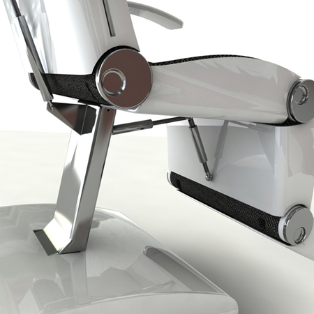 vita lie flat hospital chair