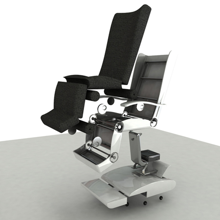 vita ergonomic lie flat hospital chair