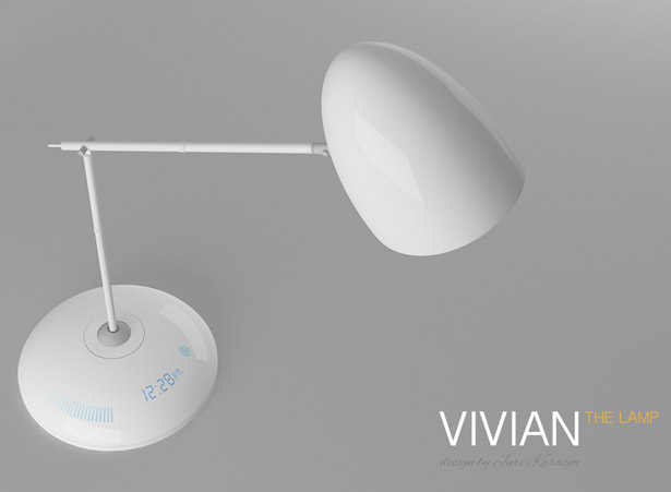 Vivian The Lamp by Juri Karasjov