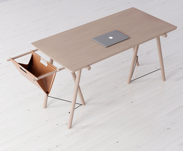 VM Desk - Modern Desk and Accessory by Sergey Gotvyansky
