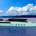 VNZ 60M Yacht - Hybrid Sport Yacht Concept Features Lots of Indoor and Outdoor Entertaining Space