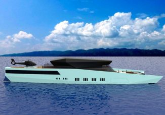 VNZ 60M Yacht – Hybrid Sport Yacht Concept Features Lots of Indoor and Outdoor Entertaining Space