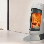Futuristic Vogue Wood Stove by Austroflam