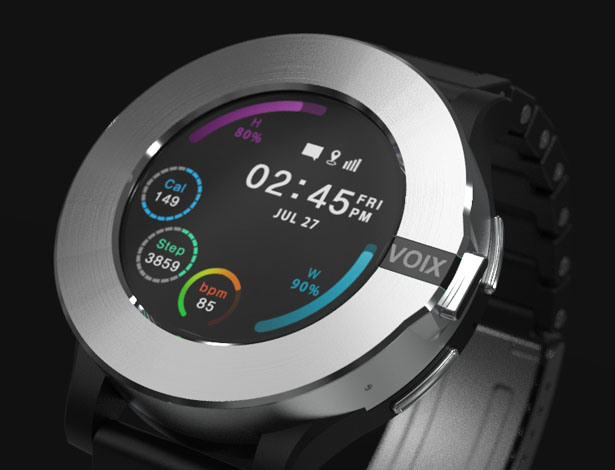 VOIXATCH Smart Watch with Built-in Bluetooth Headset