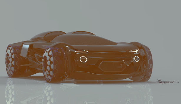 Volkrun Concept Car by Rashid Tagirov and Pavel Makarov