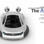 Futuristic Volkswagen Aqua Air-Cushion Vehicle