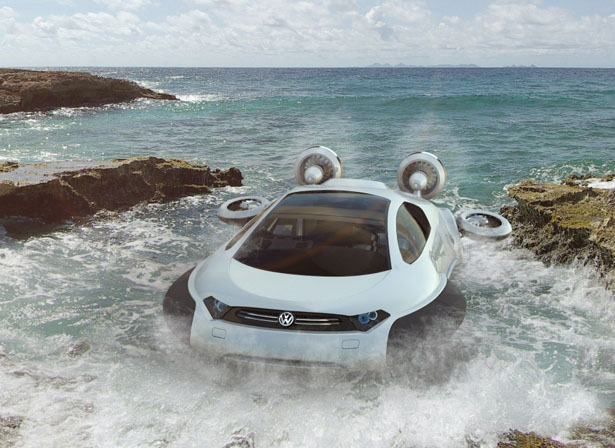 Volkswagen Aqua Hybrid Vehicle