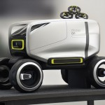 Volkswagen LUNA : An Autonomous Concept Car with Integrated Drone