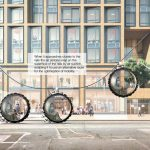 Futuristic Volkswagen MUT. E - Mobility of The Future for Smart Cities