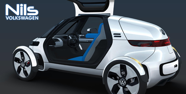 Volkswagen NILS Single Seat Electric Vehicle