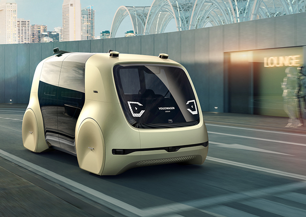 Volkswagen Sedric Self-Driving Concept Car as Future Individual Mobility