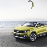 Volkswagen T-Cross Breeze Convertible SUV with Futuristic Cockpit