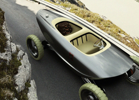 """Volkswagen Terrafine Is A Vehicle Designed To Run On Any Terrain Without The """"Bad Boy"""" Feeling"""