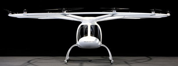 Volocopter 2X - A Passenger Multicopter