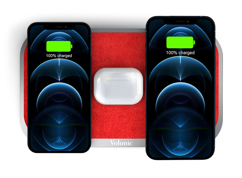 Stylish Volonic Valet 3 Wireless Charger Is a Fashionable Gadget to Complement Your Lifestyle