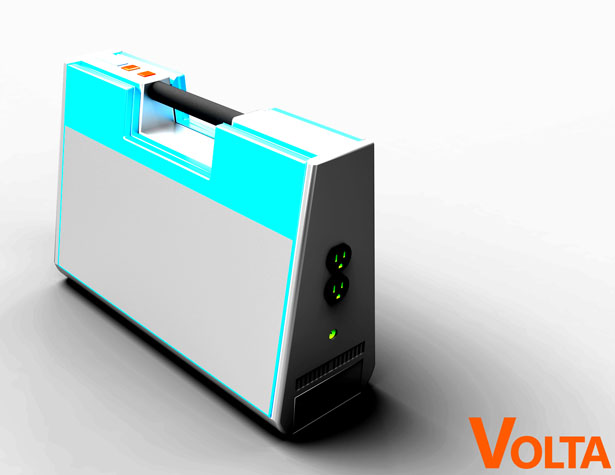 Volta Solar Charger by Colin Murphy