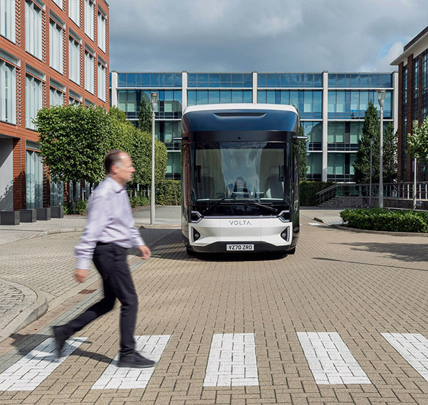 Volta Zero : Full-Electric Commercial Truck for Inner City Freight Distribution by Volta Trucks