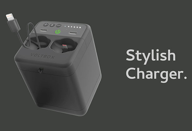 Voltbox - Multiple Charging Station by Rikardo Philipp