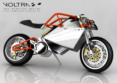 Voltra Electric Motorcycle by Dan Anderson
