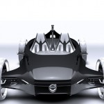 Volvo Air Motion Racing Car Powered by Air Turbines
