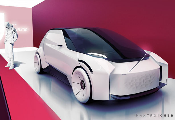 Volvo Care Concept Car: Company's Car to Support Employee's Well ...