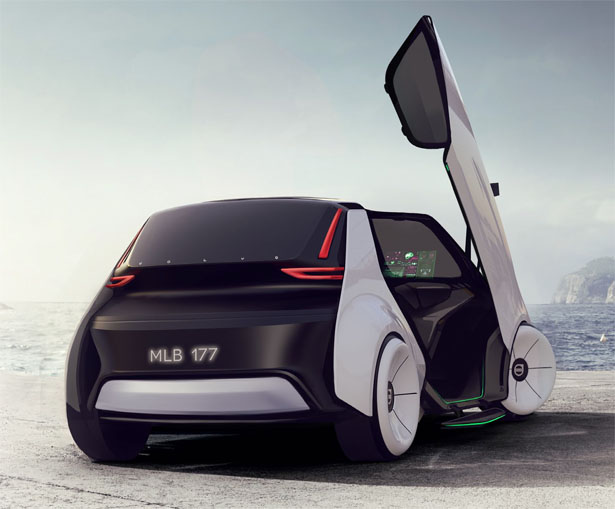 Volvo Care Concept Car Company S Car To Support Employee S Well