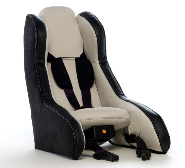 Volvo Inflatable Child Seat Concept For Better Child Safety