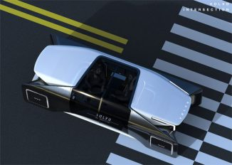 Volvo Interaction – Futuristic Autonomous Vehicle Concept to Meet New People