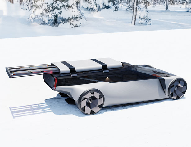 Volvo Ladan a.k.a The Box Was Inspired by The Iconic Volvo Wagons by Alain Snoodijk
