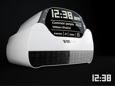 volvo mp3 player concept