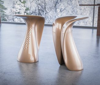 Volya Seat Design Was Influenced by Concave and Convex Surface of Nature